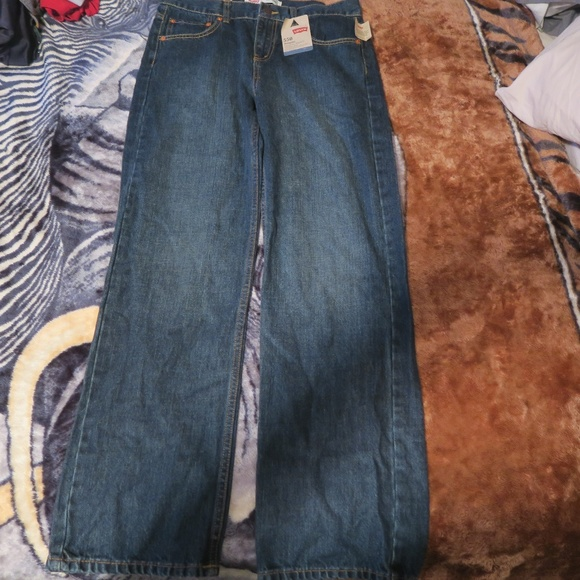 Levi's Other - NWT Levis 550 Relaxed Tapered Leg Blue Jeans 30x30